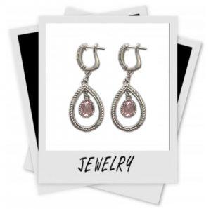 Judith-Ripka-Pink-Crystal-earrings