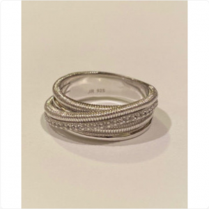 Judith-Ripka-Sterling-Silver-Band-Ring-White-Topaz