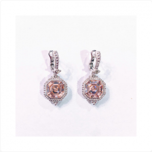 Judith-Ripka-Sterling-Silver-Pink-Crystal-Drop-Earrings