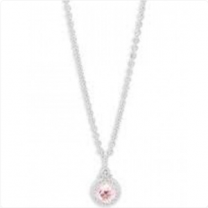 Judith-Ripka-Sterling-Silver-Pink-Crystal-Necklace
