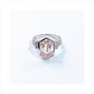 Judith-Ripka-Sterling-Silver-Pink-Hexagon-Ring