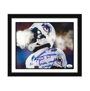 Ricky-Williams-Signed-Smoke-Weed-Everyday-Photograph