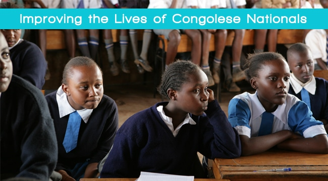 Kamoa Copper is committed to improving the lives of Congolese nationals through its education initiatives in the DRC
